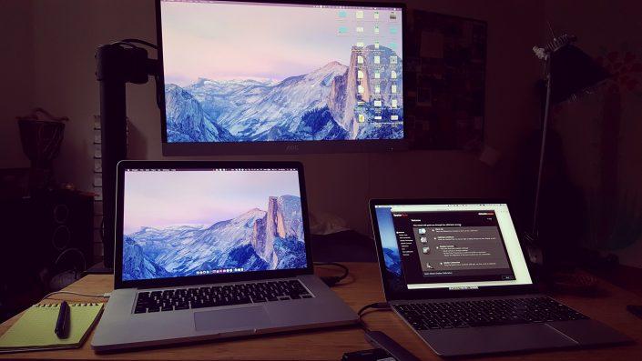Trijų monitorių kalibravimas