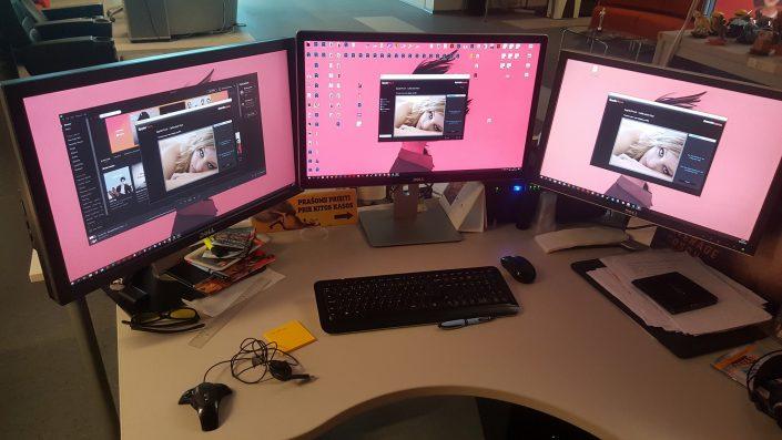 Profesionalus monitorių kalibravimas